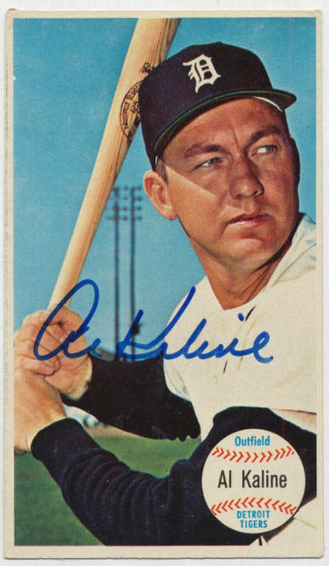 Lot #40 1964 Topps Giants # 12 Al Kaline Cond: 9.5