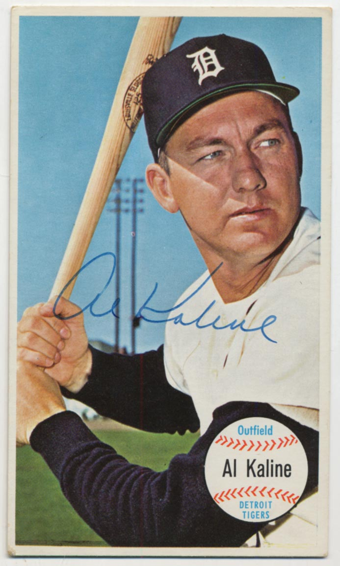 Lot #89 1964 Topps Giant # 12 Kaline Cond: 9.5