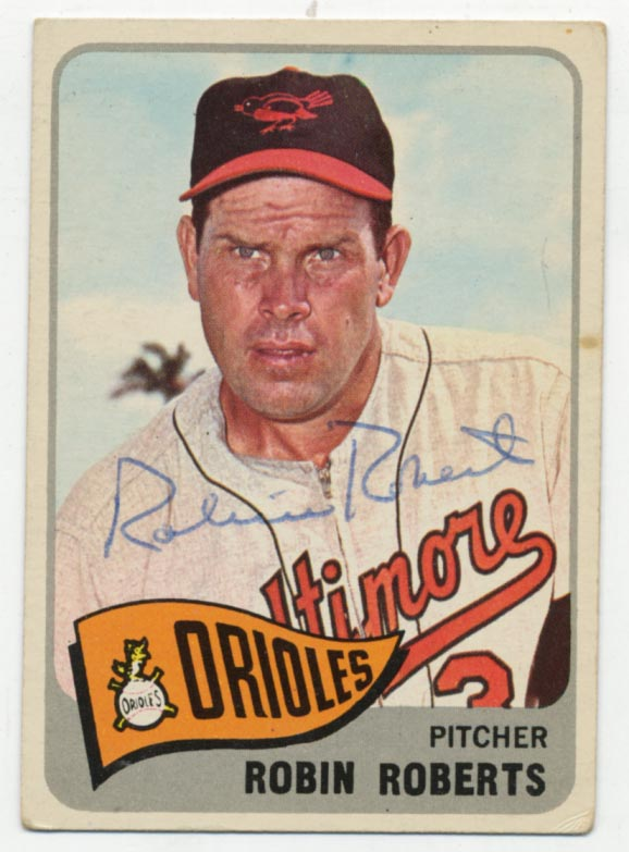 Lot #97 1965 Topps # 15 Roberts Cond: 8.5
