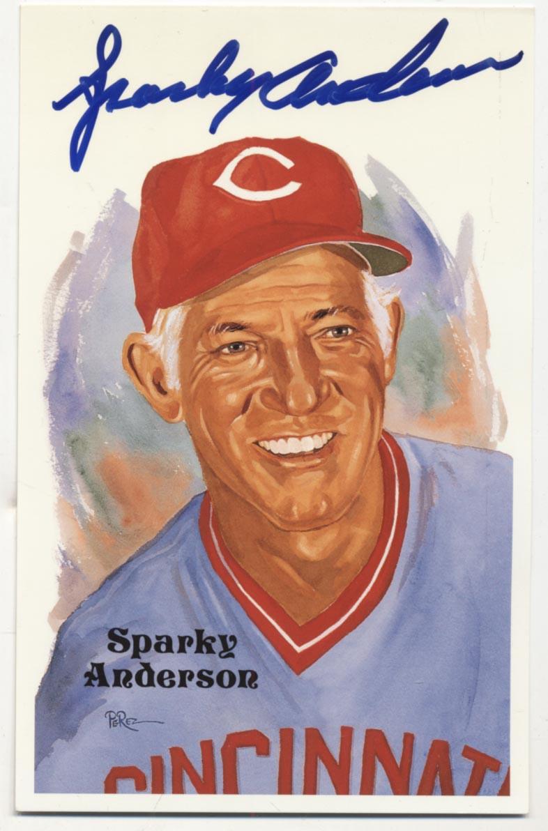 1980 Perez Steele  Anderson, Sparky 9.5