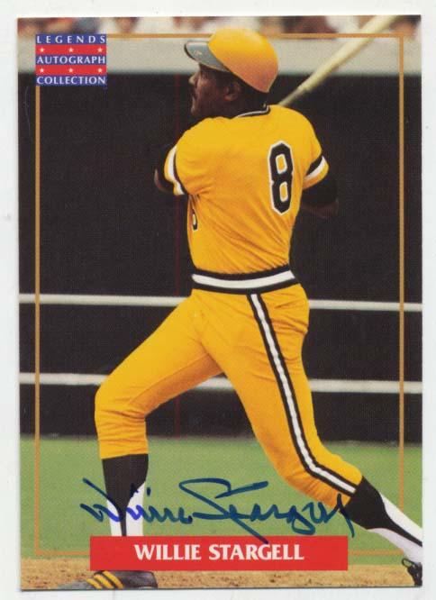 Lot #92 1996 MLB Alumni  Stargell Cond: 9.5