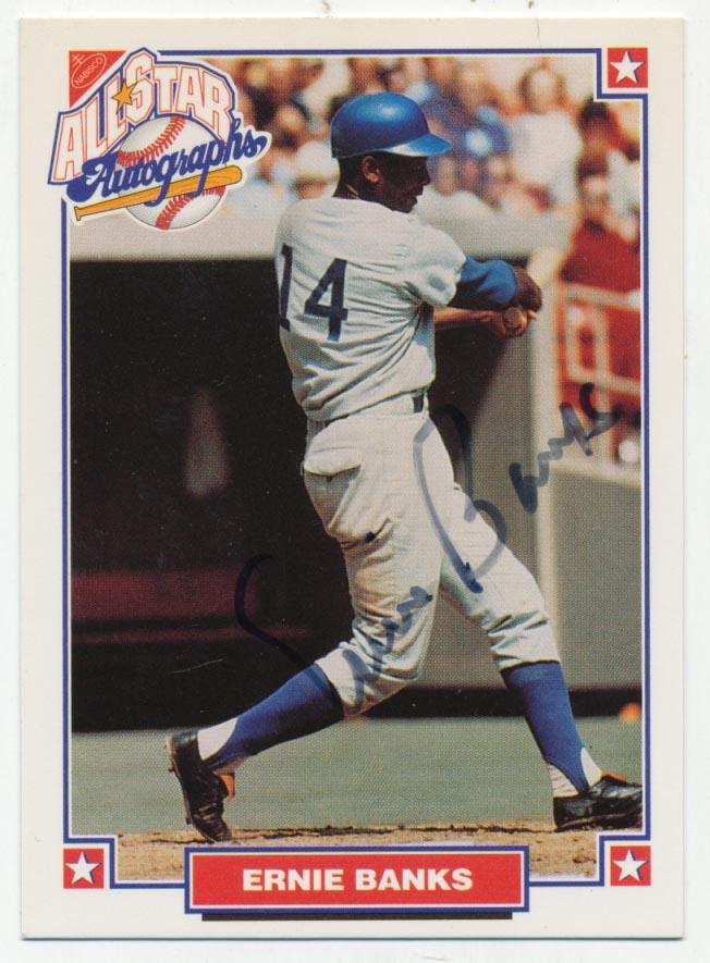 Lot #88 1993 Nabisco  Banks, Ernie Cond: 8.5