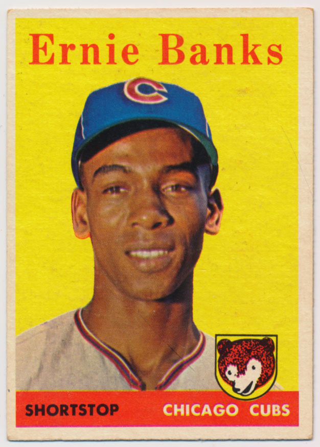 Lot #899 1958 Topps # 310 Banks Cond: Ex