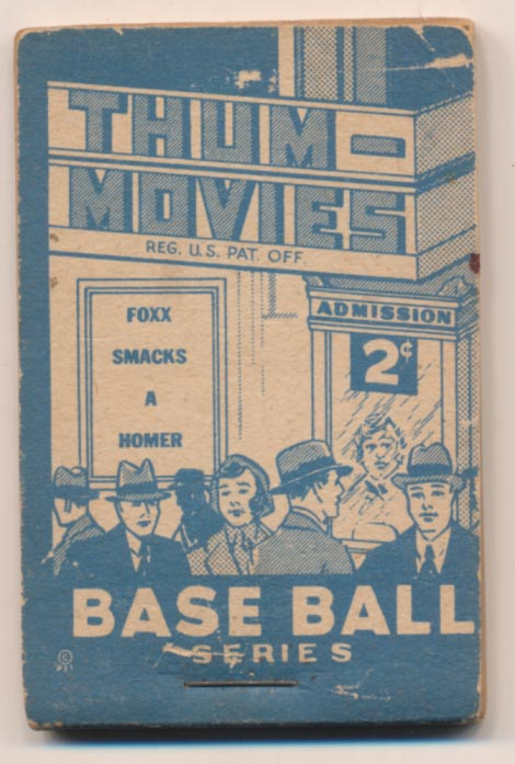 1937 Goudey Thumb Movie 12 Foxx VG+
