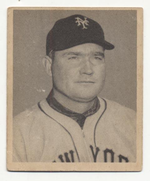 Lot #466 1948 Bowman # 4 Mize Cond: VG