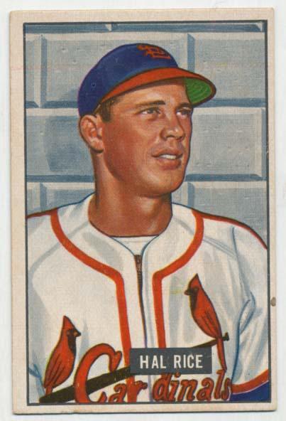 Lot #286 1951 Bowman # 300  Cond: VG-Ex/Ex