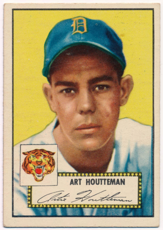 Lot #662 1952 Topps # 238  Cond: Ex
