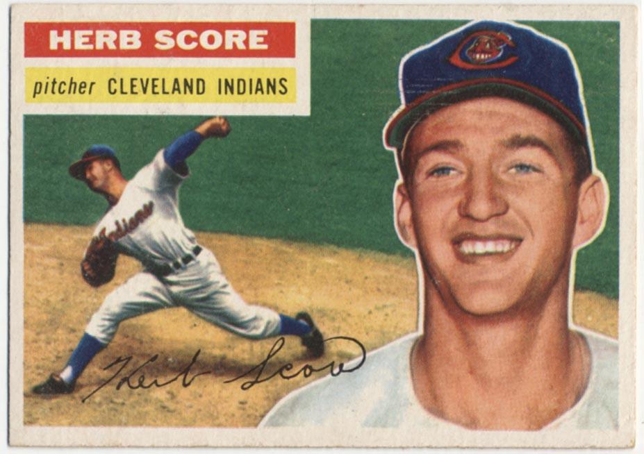 Lot #832 1956 Topps # 140 Score RC Cond: Ex-Mt+