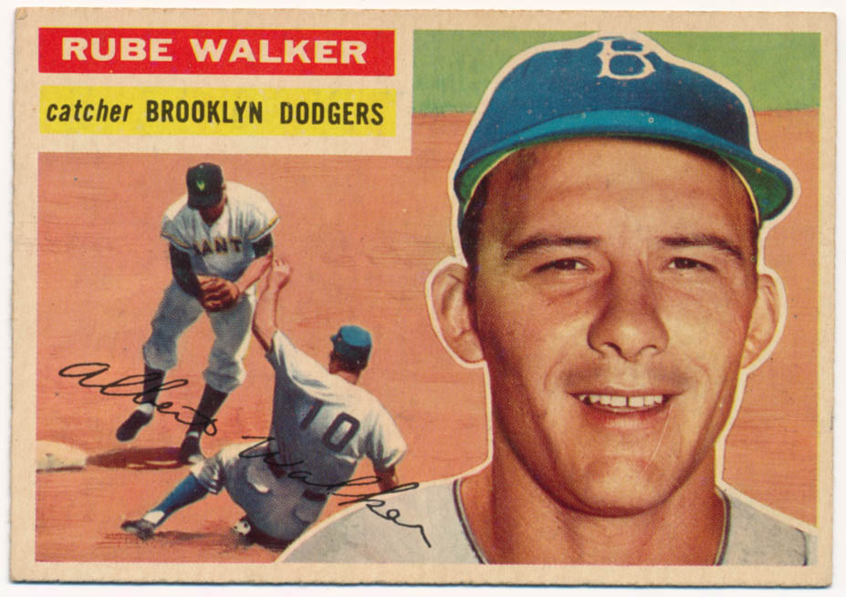 Lot #852 1956 Topps # 333 Walker Cond: NM