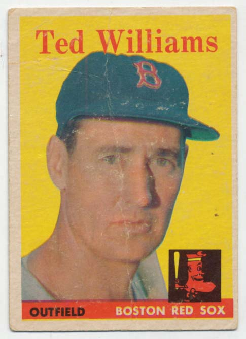 Lot #604 1958 Topps # 1 Williams Cond: Good