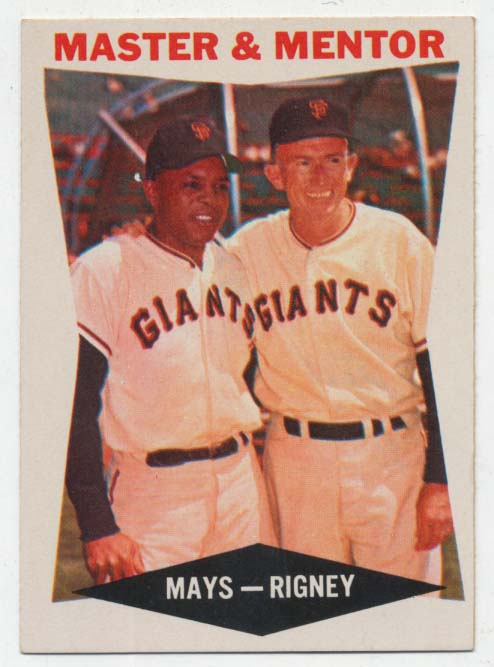 Lot #860 1960 Topps # 7 Mays/Rigney Cond: Ex-Mt+