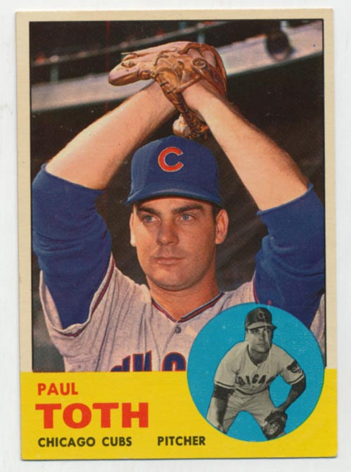 Lot #1073 1963 Topps # 489  Cond: Ex-Mt+