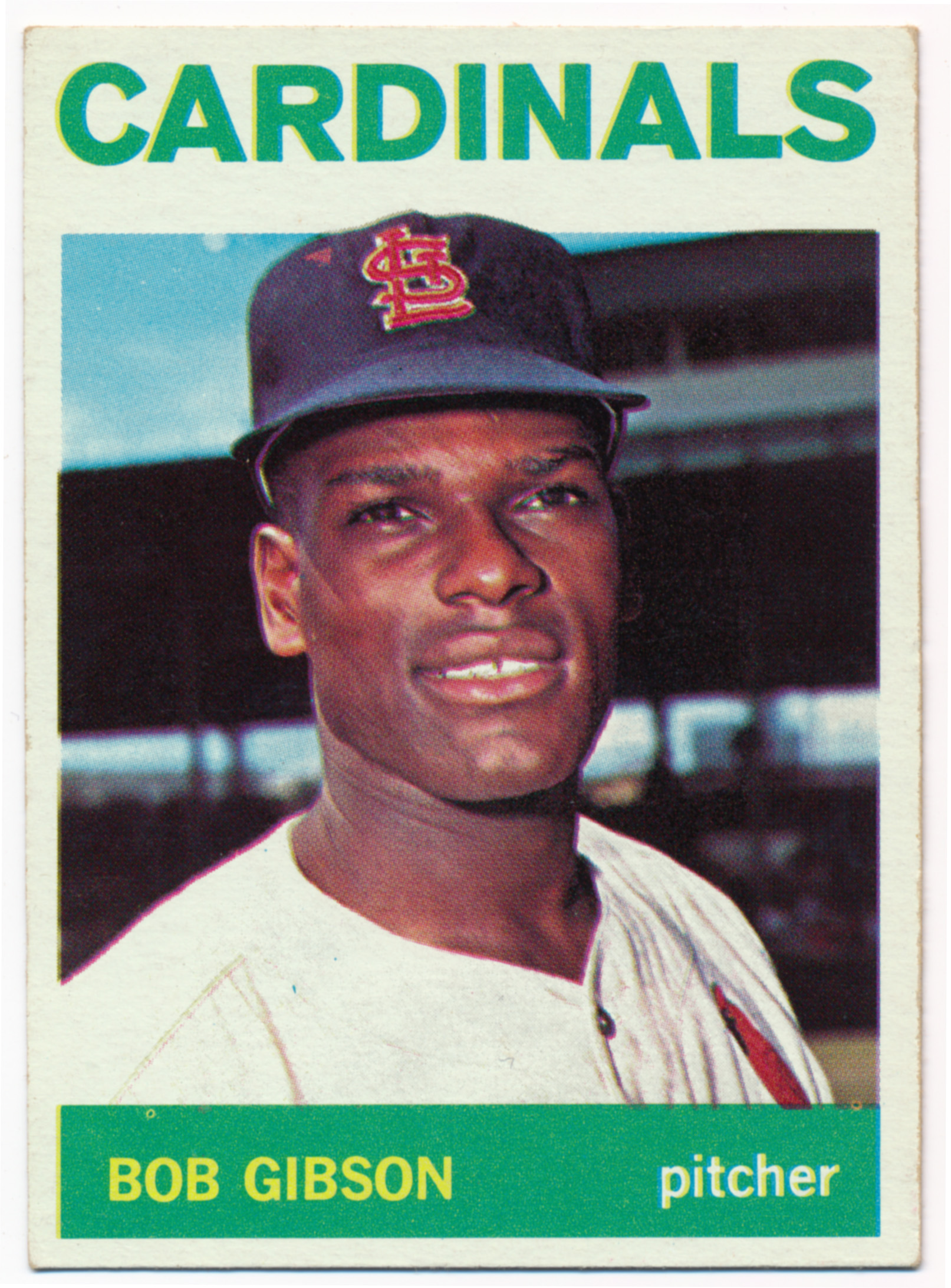 Lot #804 1964 Topps # 460 Gibson Cond: Ex++