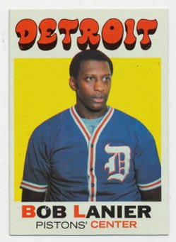 Lot #1334 1971 Topps # 63 Lanier RC Cond: Ex-Mt+