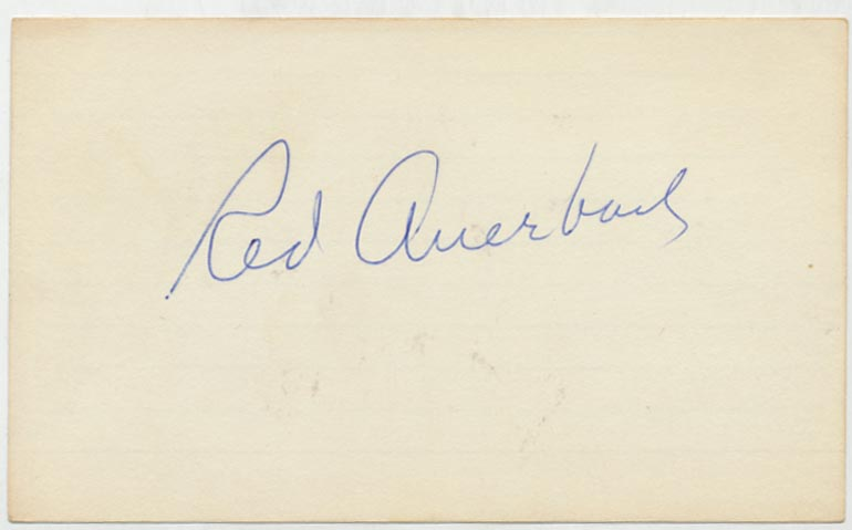 Lot #787  3 x 5  Auerbach, Red Cond: 9.5
