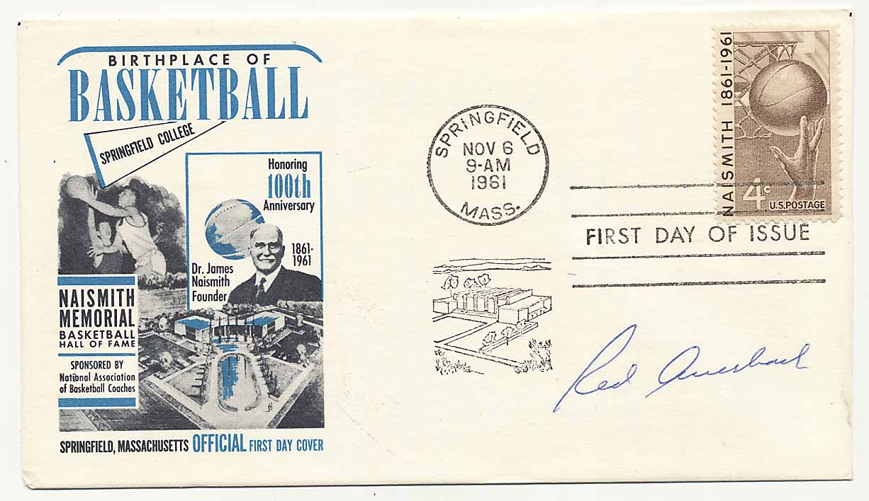 Lot #908    Auerbach, Red Signed Cachet (JSA LOA) Cond: 9.5