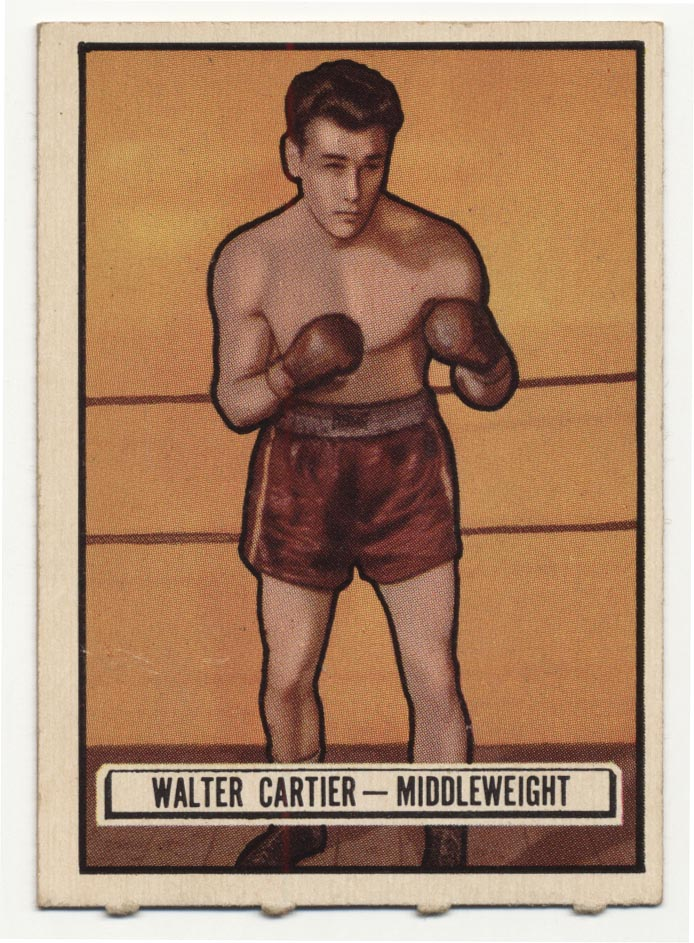 Lot #766 1951 Ringside # 33 Cartier Cond: NM