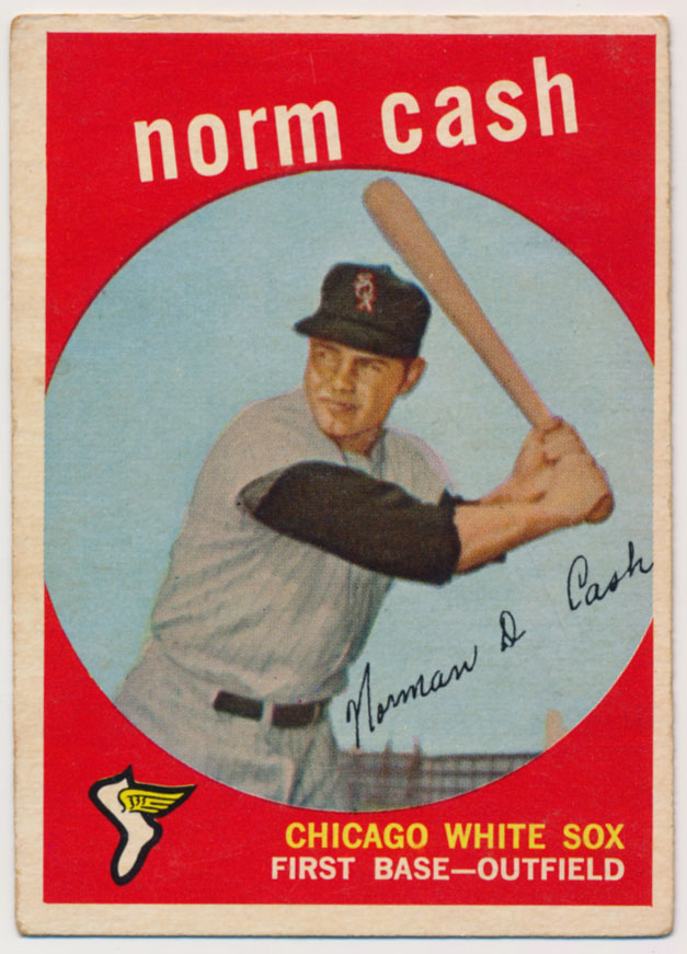 Lot #962 1959 Topps # 509 Cash RC Cond: VG+