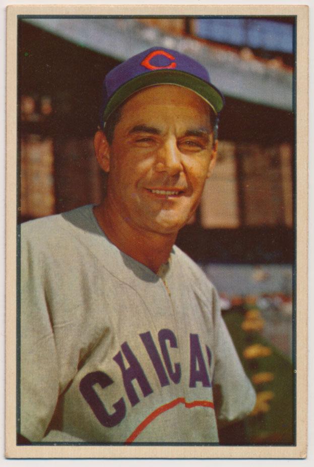 Lot #614 1953 Bowman Color # 30 Phil Cavaretta Cond: Ex-Mt+ ctd