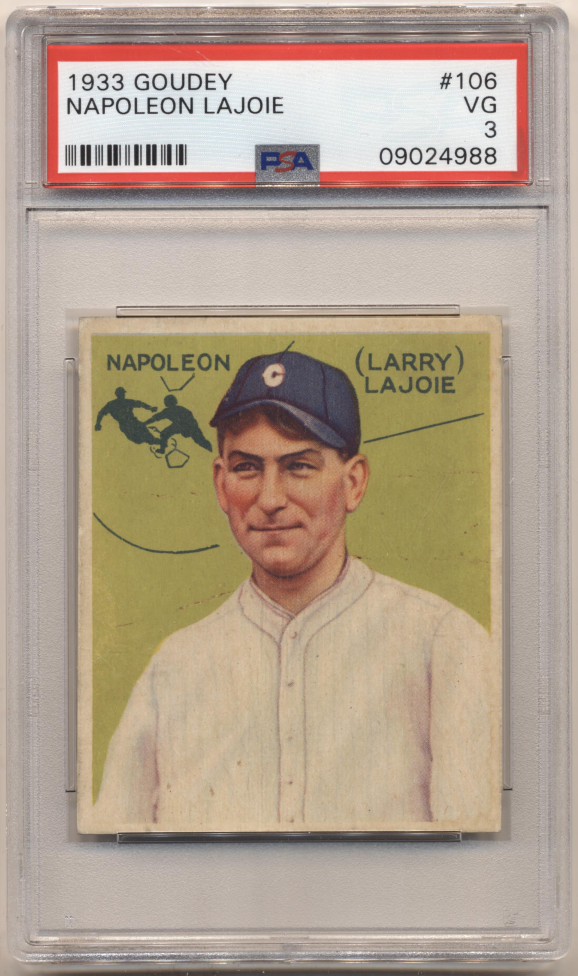 Clean Sweep Auctions Item 606463 Lot 2 1933 Goudey