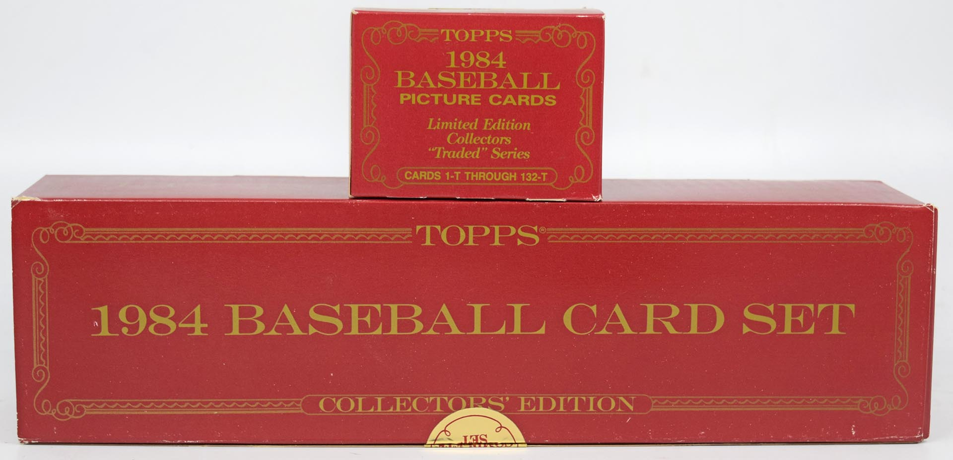 Lot #380 1984 Topps Tiffany  Complete Set + Traded Cond: Nm-Mt