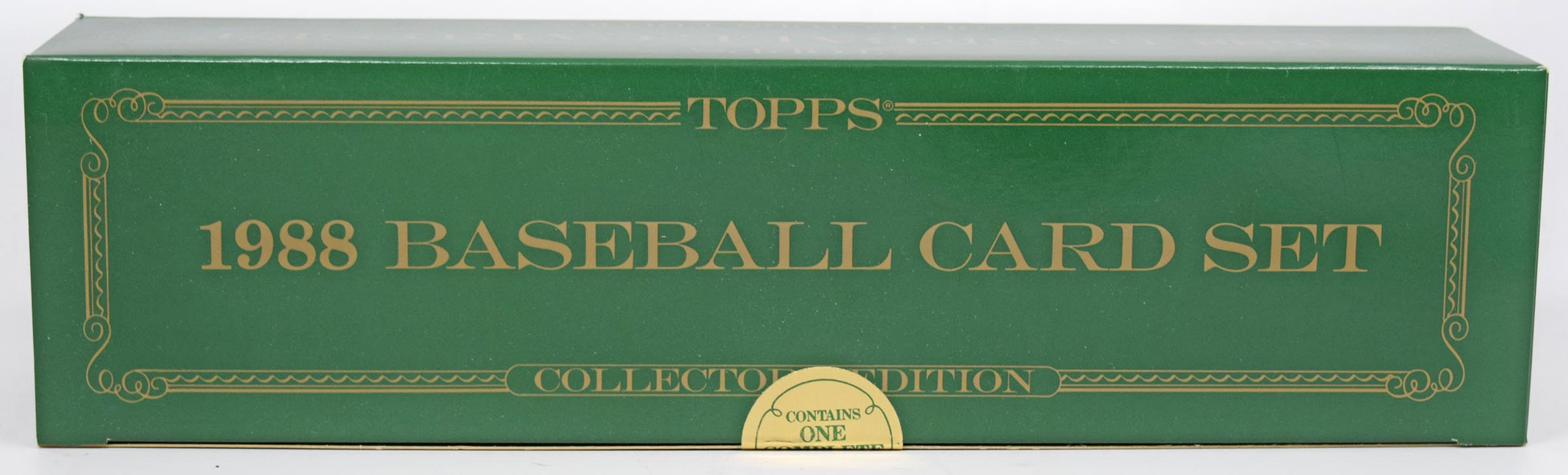 Lot #384 1988 Topps Tiffany  Complete Set Cond: Nm-Mt