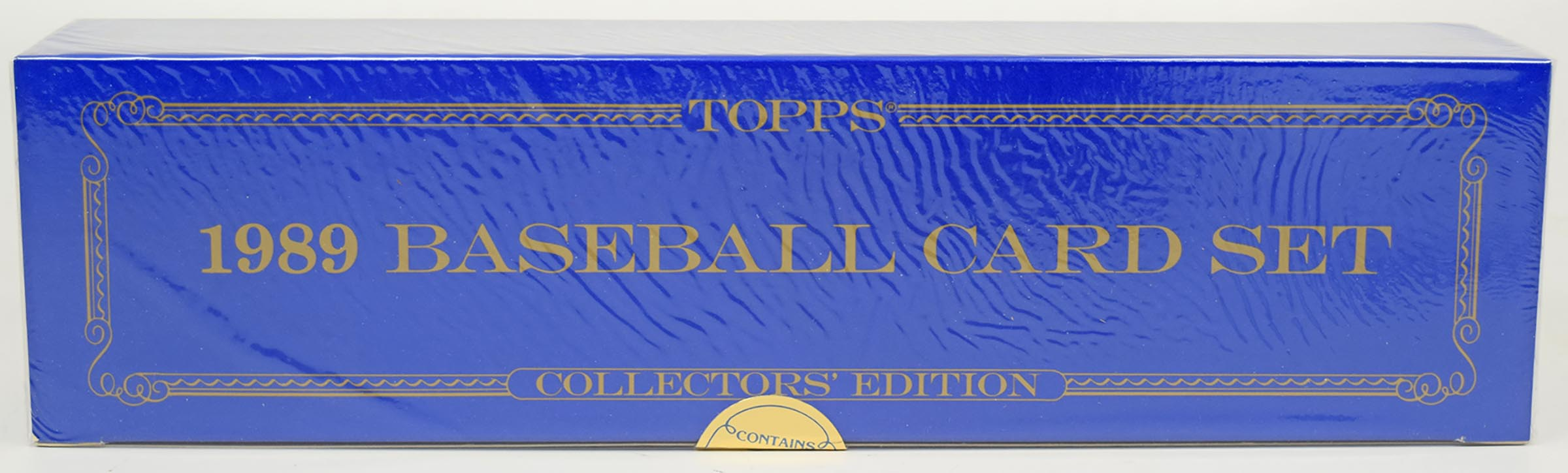 Lot #385 1989 Topps Tiffany  Complete Set Cond: Nm-Mt