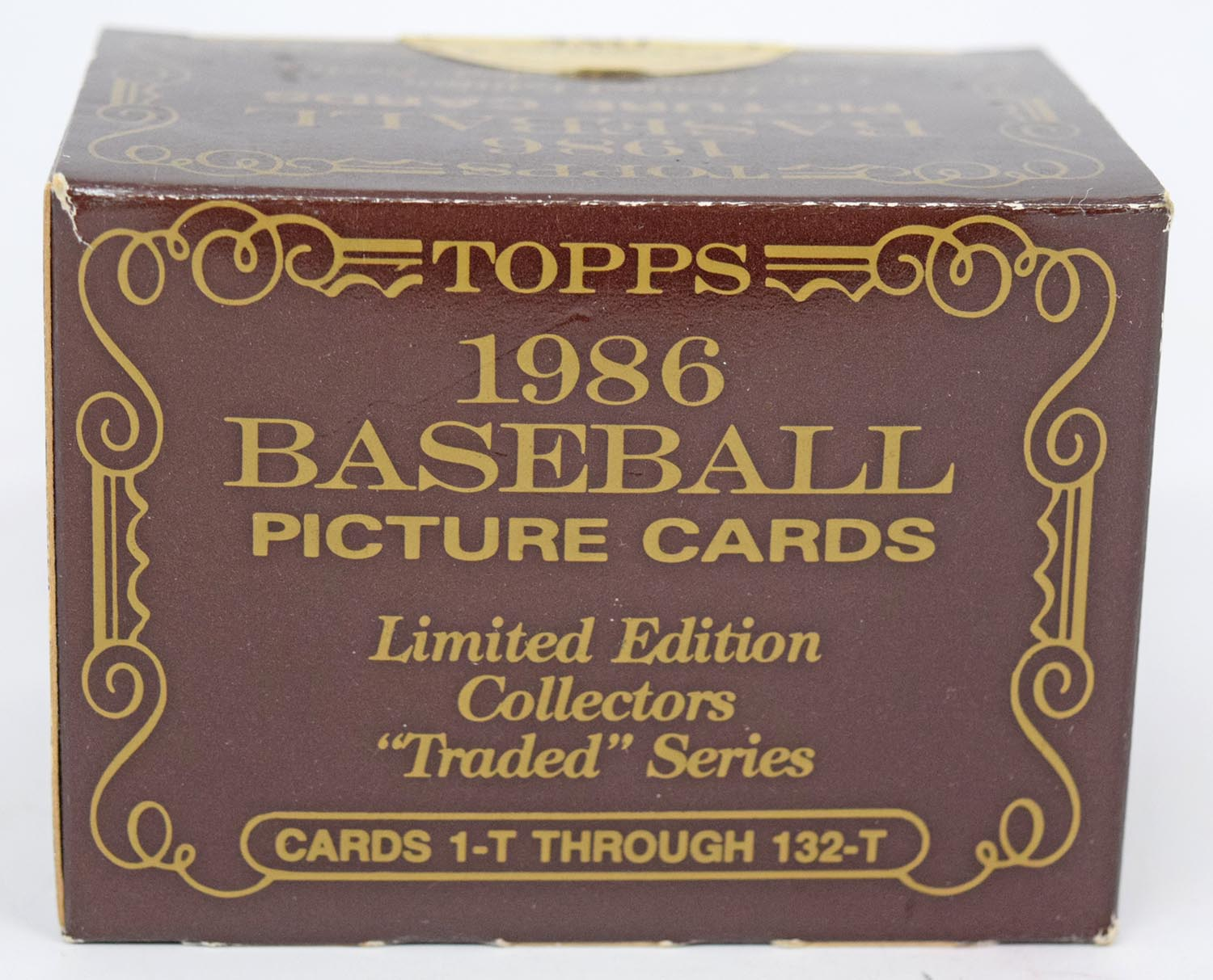 Lot #382 1986 Topps Tiffany  Complete Traded Set Cond: Nm-Mt