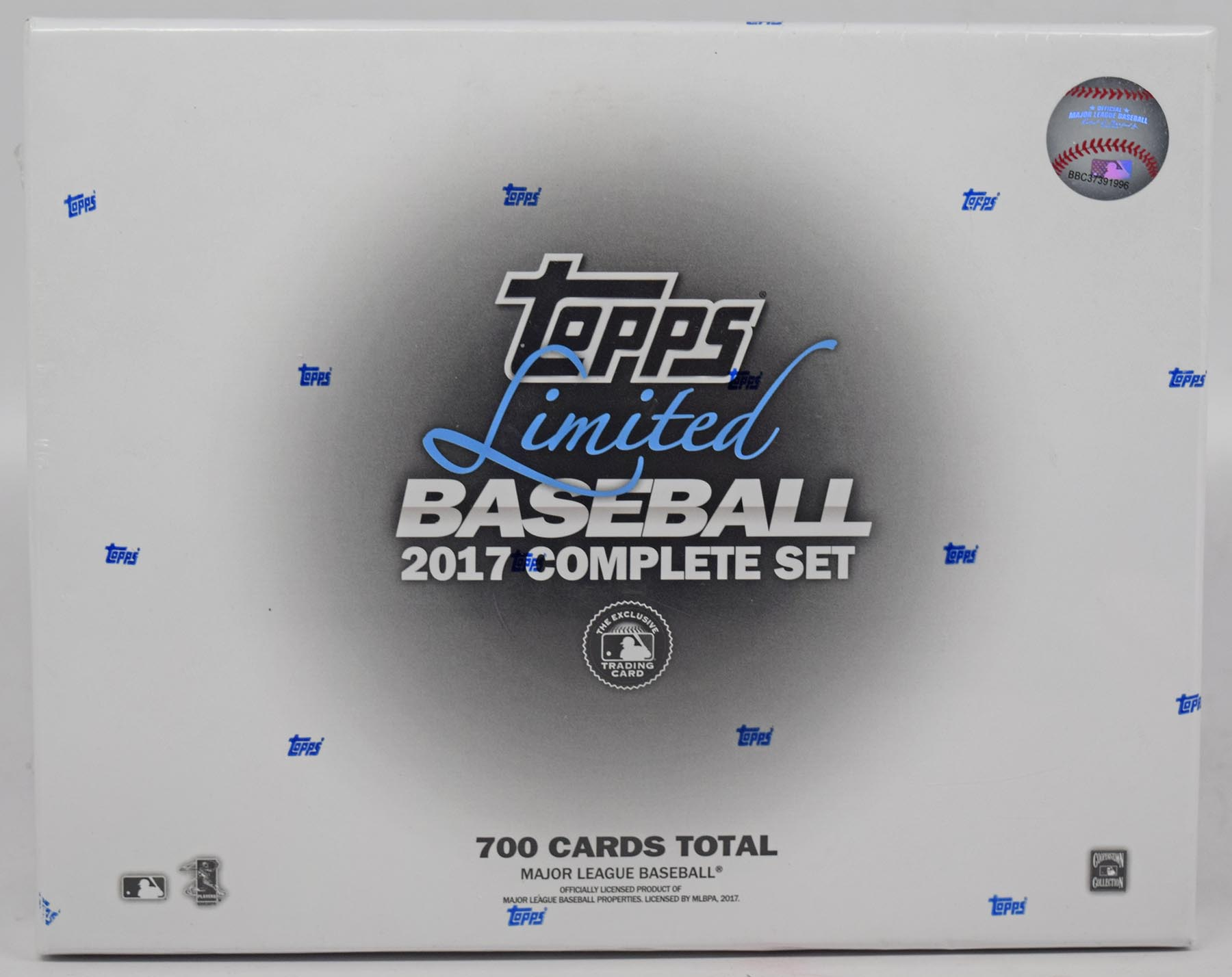 Lot #389 2017 Topps Limited/Tiffany  Complete Sealed Set Cond: Nm-Mt