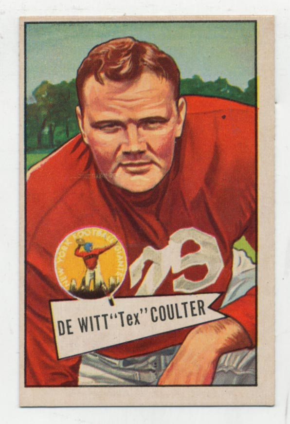 1952 Bowman Large 71 Coulter Ex-Mt