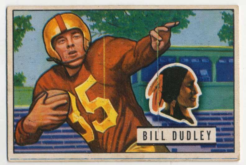 Lot #590 1951 Bowman # 144 Dudley Cond: VG-Ex/Ex