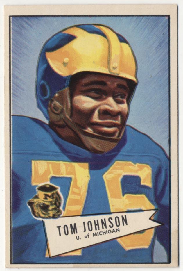 1952 Bowman Large 90 Johnson Ex