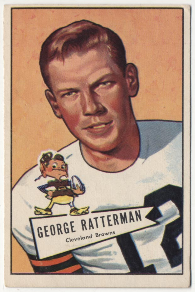 1952 Bowman Large 111 Ratterman VG+