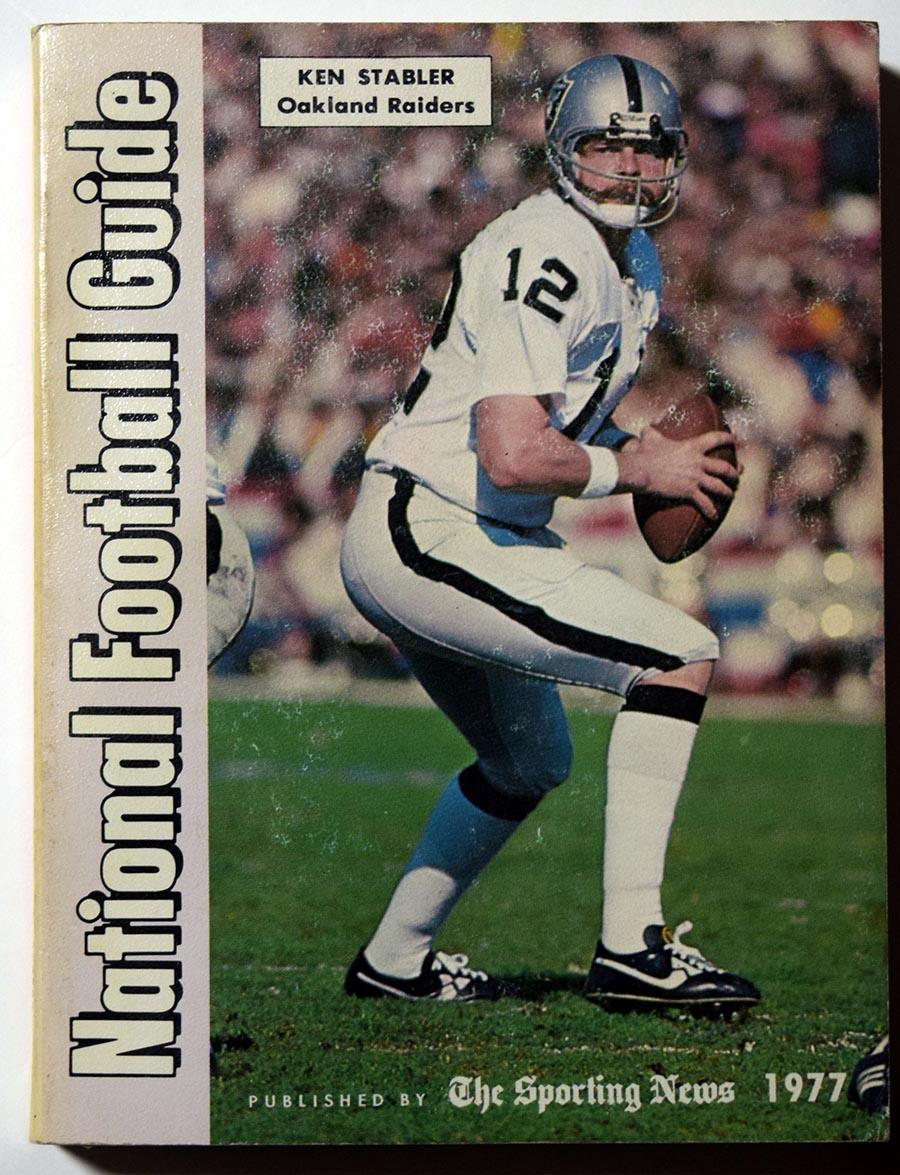 1977 Pub  TSN Football Guide Ex-Mt