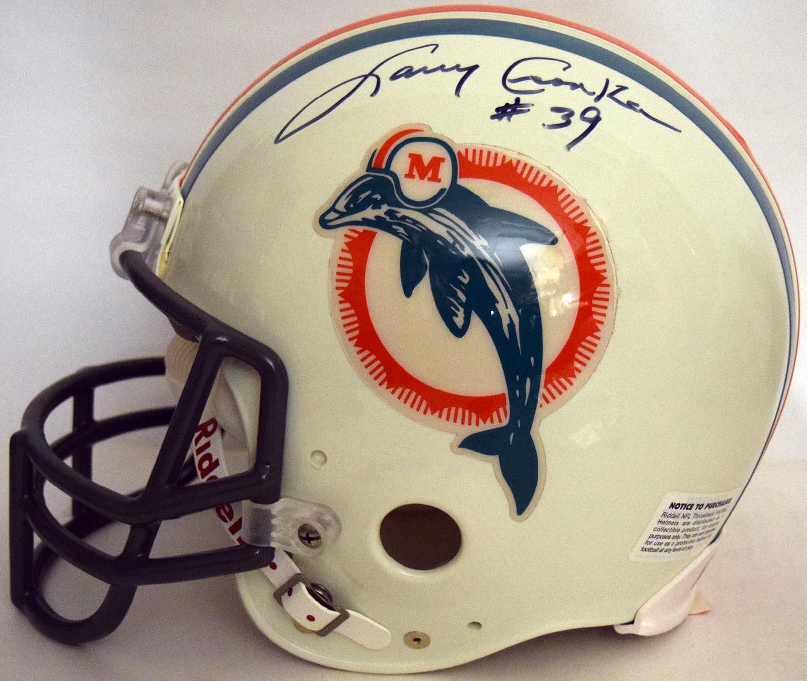 Lot #860  Full Size Helmet  Csonka, Larry Cond: 9.5