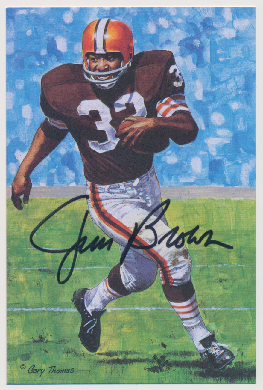 Lot #1004  Goal Line  Brown, Jim Cond: 9.5