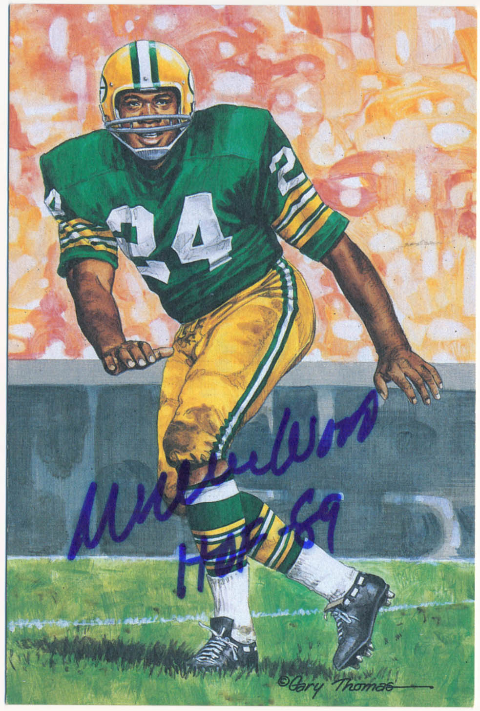 Lot #1078  Goal Line  Wood, Willie Cond: 9.5