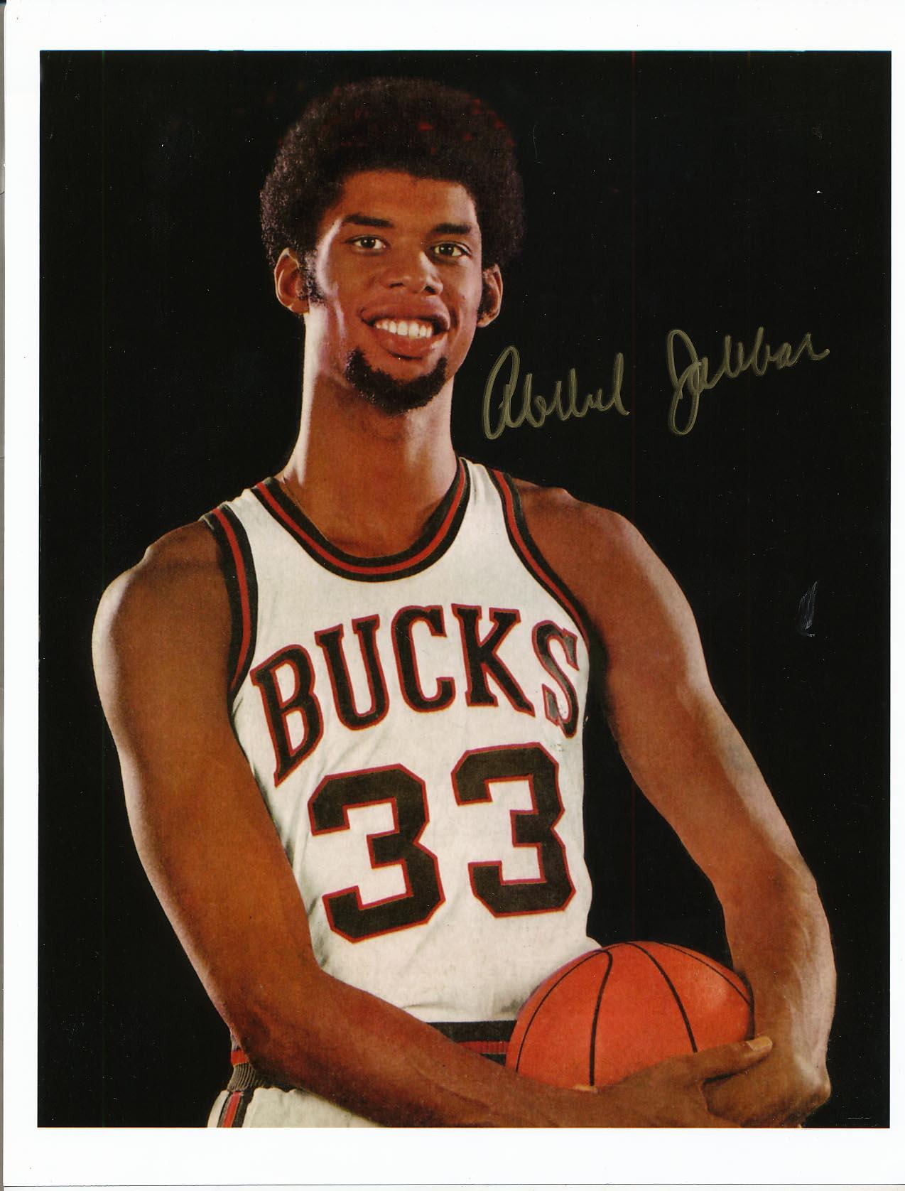 Lot #900  8 x 10  Jabbar, Kareem Abdul (JSA LOA) Cond: 9.5