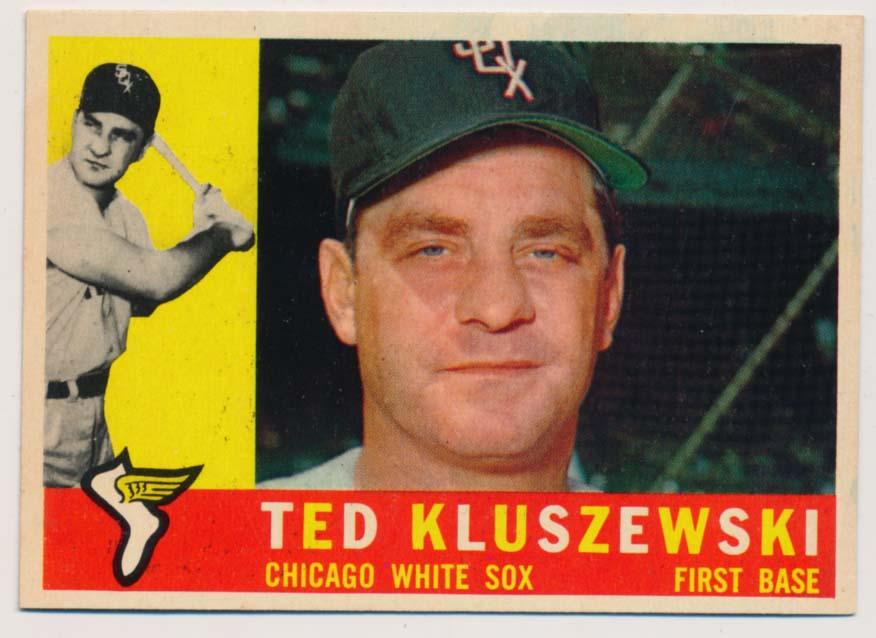 Lot #709 1960 Topps # 505 Kluszewski Cond: Ex