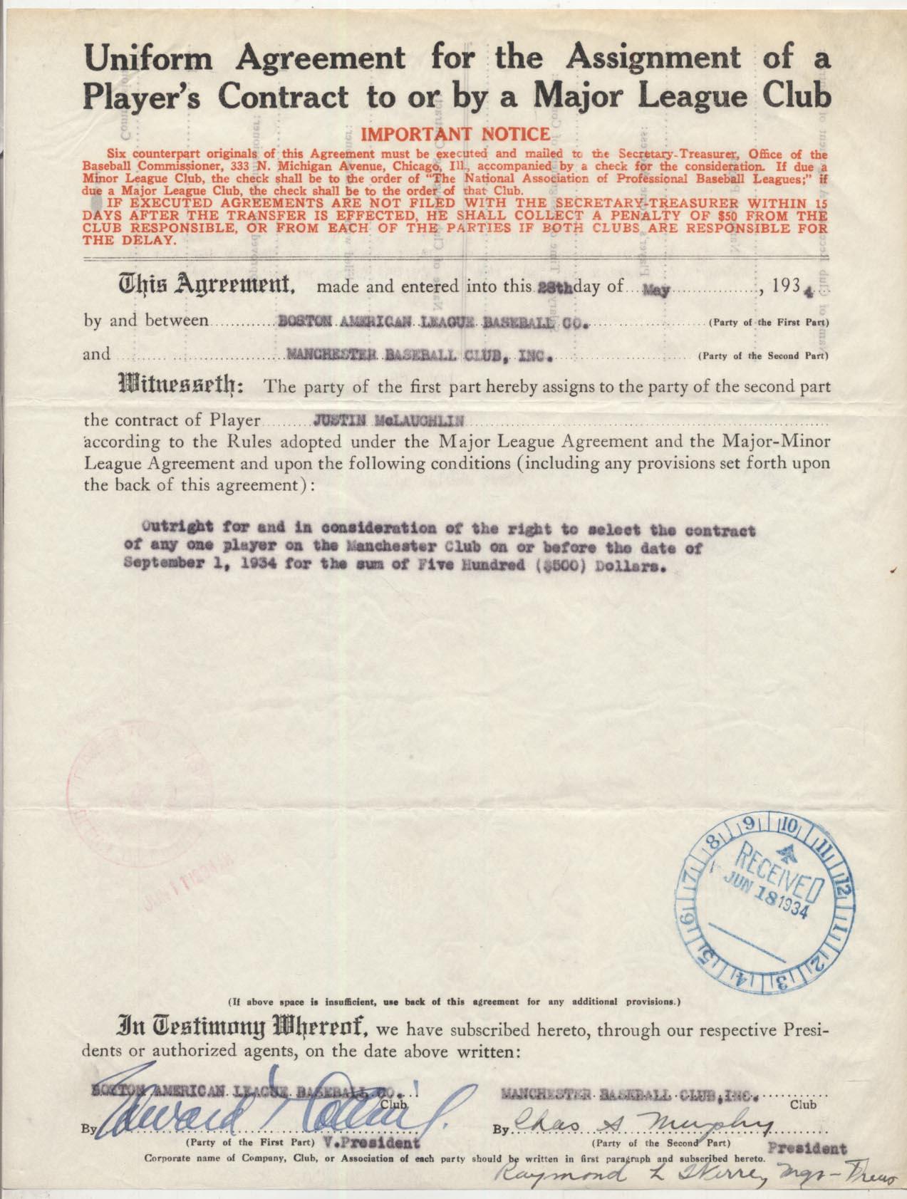 Lot #91  Document  Collins, Eddie Cond: 9