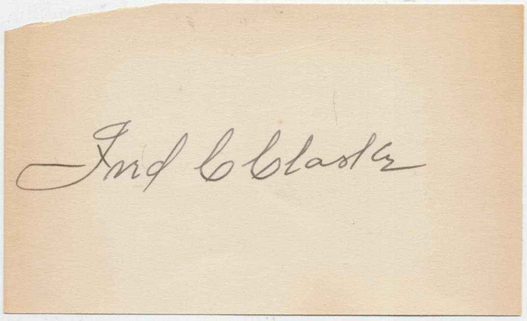 Lot #359  3 x 5  Clarke, Fred Cond: 9.5