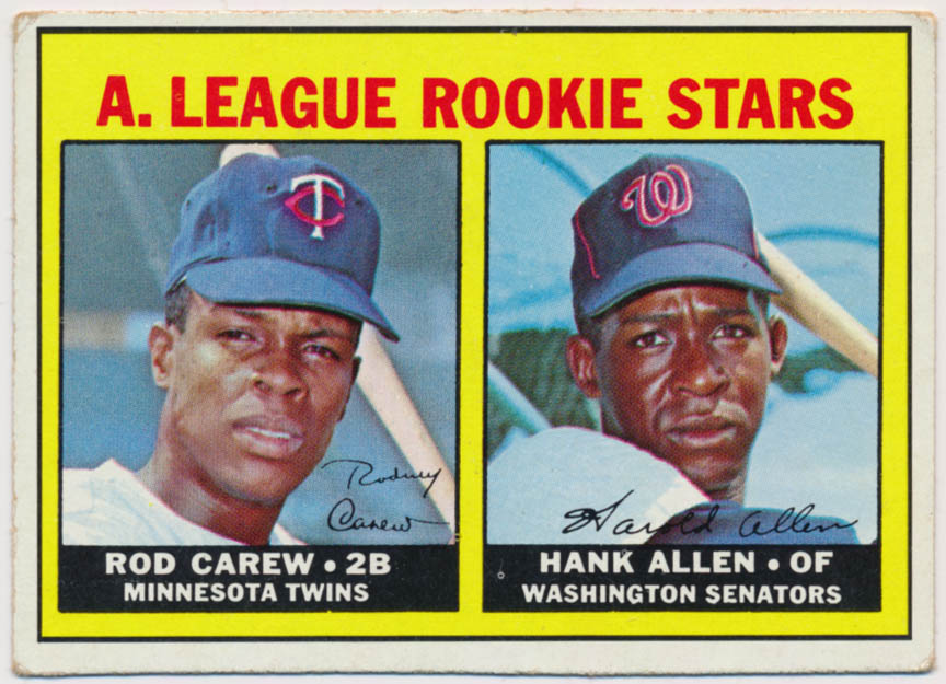 Lot #519 1967 Topps # 569 Carew RC Cond: VG