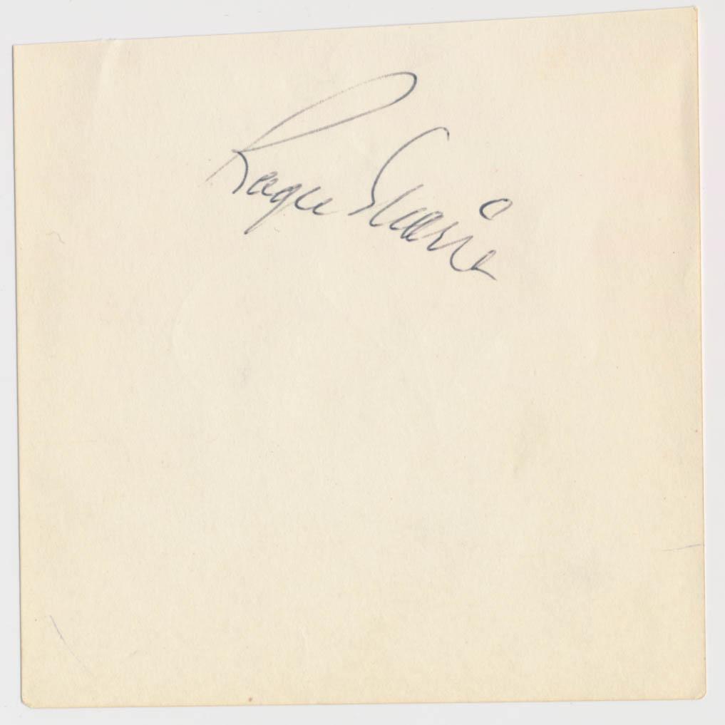 Lot #343  Album Page  Maris, Roger Cond: 8.5