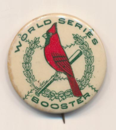 1928 Pin  St. Louis Cardinals World Series VG