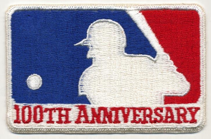 Lot #1514 1969   MLB 100th Anniversary Patch Cond: Ex-Mt+