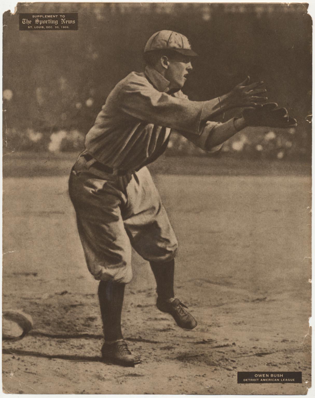 Lot #50 1911 M101-2 # 24 Owen Bush (12/30/1910) Cond: Poor-Fair