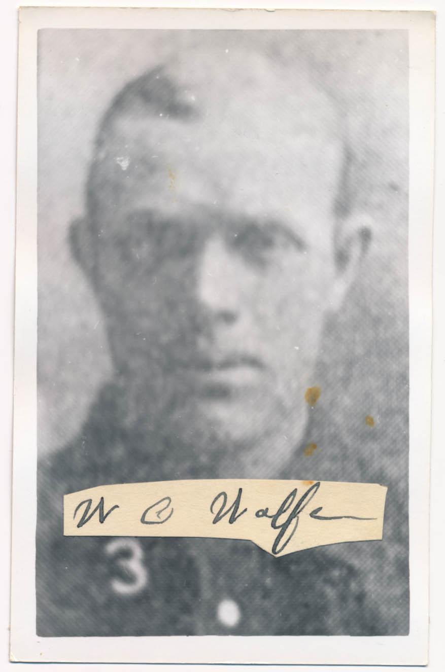 Lot #340  Cut  Wolfe, William (JSA LOAA) Cond: 8