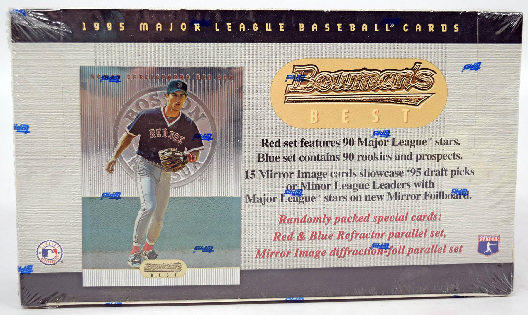Lot #395 1995 Bowman's Best  Wax Box Cond: Nm-Mt