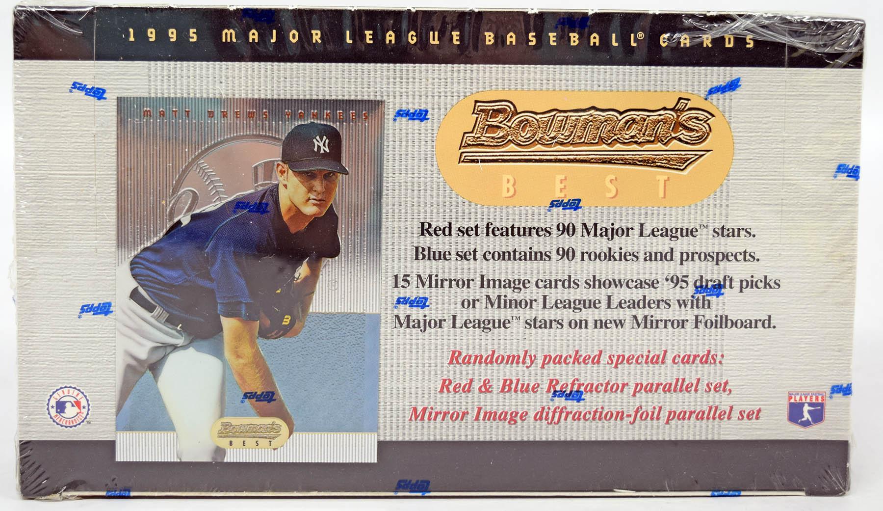 Lot #396 1995 Bowman's Best  Wax Box Cond: Nm-Mt