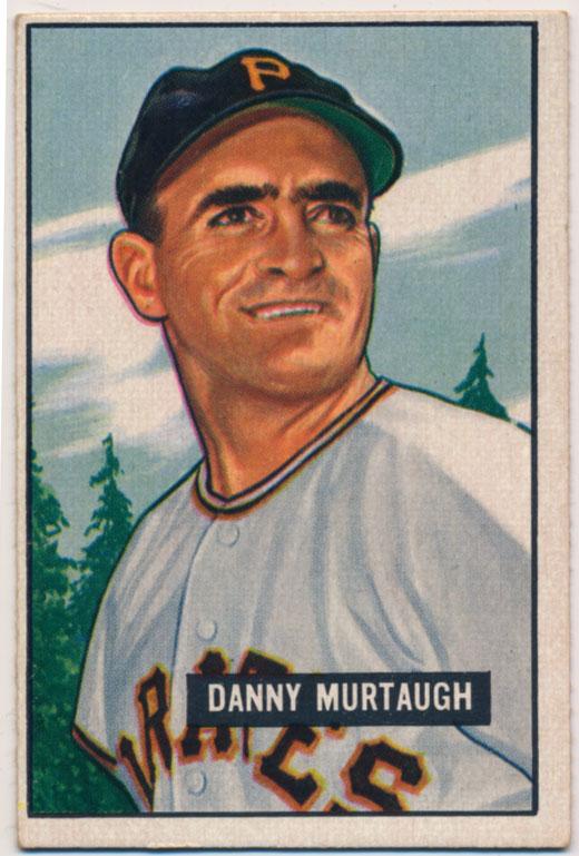 Lot #417 1951 Bowman # 273 Murtaugh Cond: Ex